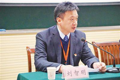 刘智明工作照。