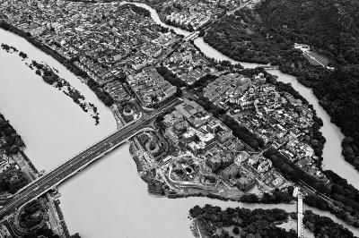 6月9日拍摄的 广西。桂林市区。
