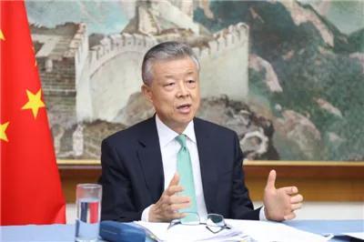 中国驻英国大使刘晓明资料图