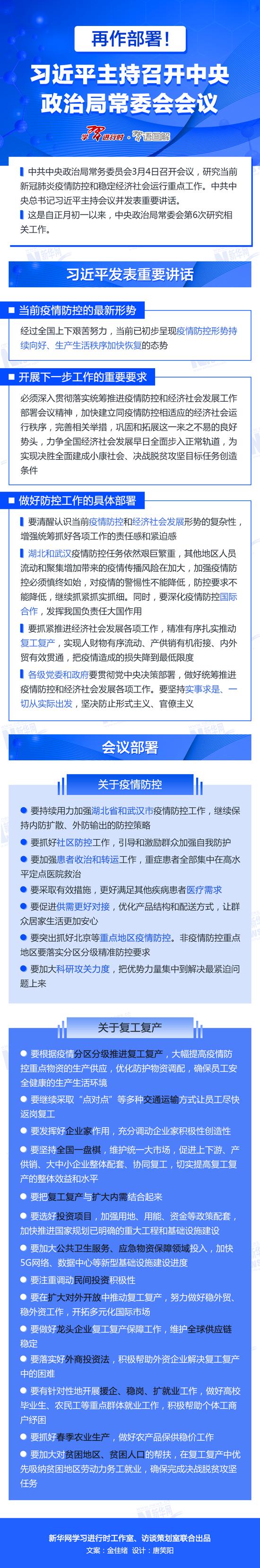 再作部署!习近平主持召开中央政治局常委会会议图片