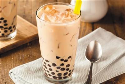 台湾珍珠奶茶。 (图片来自台媒)