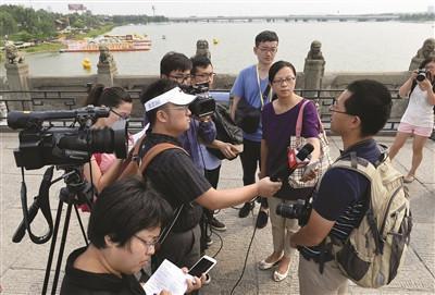 2015年日本媒体在卢沟桥采访