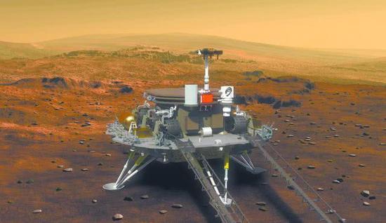中国将对火星进行精细巡视勘查 计划细节曝光图片