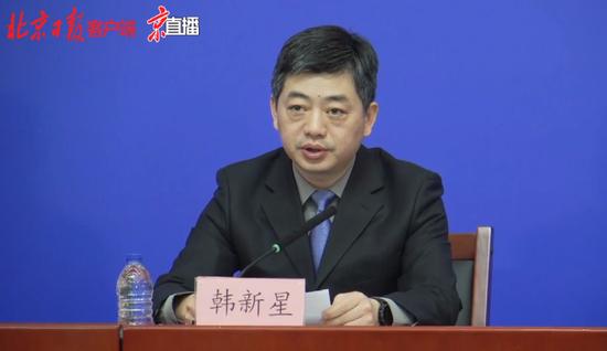 北京大兴区副区长感谢医护人员志愿者以及社区居民图片