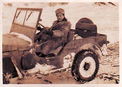 胡济邦女士在苏德战场