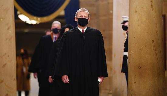 美最高法院首席大法官将不主持特朗普弹劾案审理