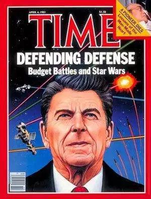 早在里根时代美国就提出了著名的星球大战计划