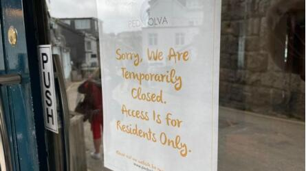 目前,PednOlva酒店已完全关闭