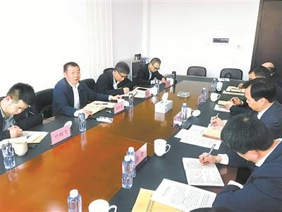 4月8日,浙江省委第三巡视组对宁波市北仑区委巡察工作进行现场指导。陈冠军 摄
