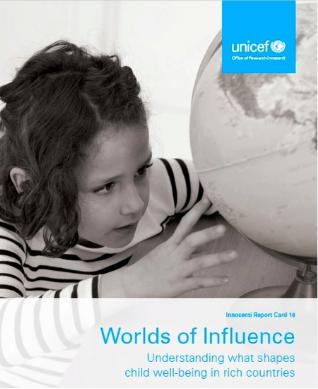 联合国报告:发达国家中荷兰儿童最幸福 美国倒数第