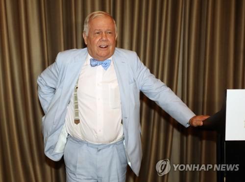国际投资大师吉姆·罗杰斯(韩联社)