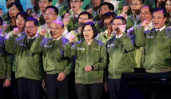"""民进党2020仍有隐忧:党内寄望""""蔡赖""""合作"""