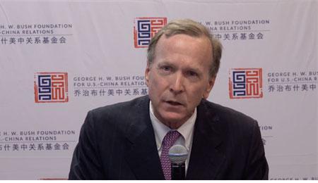 布什美中干系基金会主席尼尔-布什