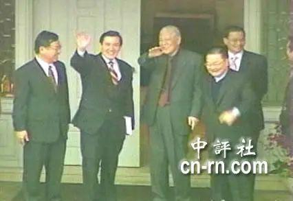 马英九执政时也曾拜会李登辉