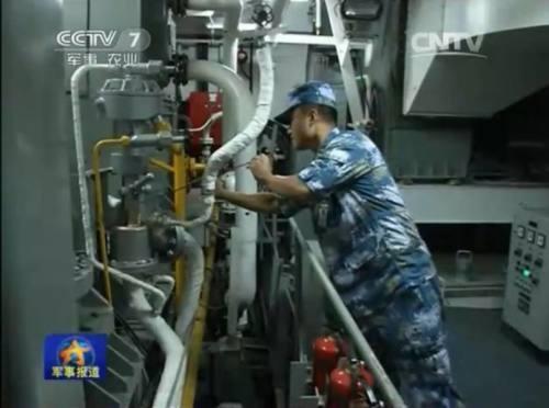 ▲ 辽宁舰的首次坞修,实际上是一个重要的经验和教训