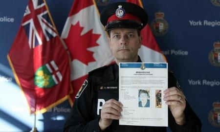 加拿大警方公布注册鹿鼎被绑架留学生信息。