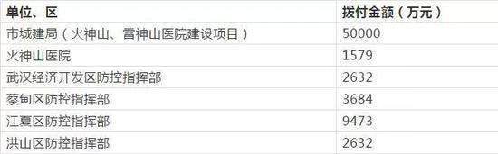 武汉市慈善总会公布第四批社会捐款7亿元用途图片