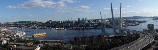 符拉迪沃斯托克港(新华社记者赖向东摄)