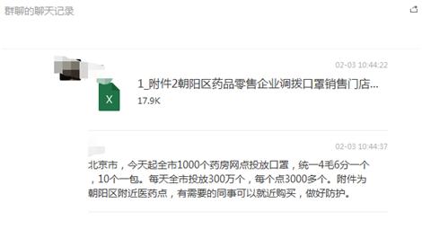 北京1000个药房每天投放300万个口罩?假的!图片