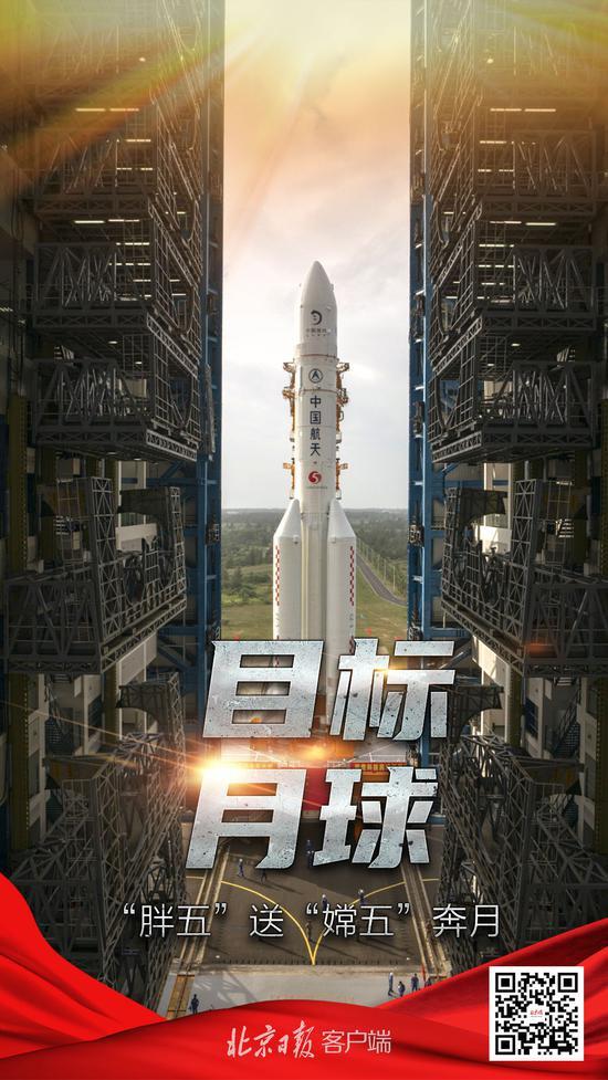 长征五号遥五运载火箭加注低温推进剂,计划24日凌晨发射图片
