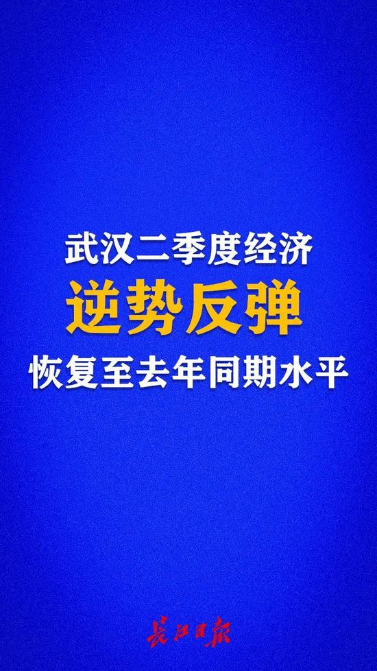 杏悅:武漢今年二季度經濟實現逆勢反杏悅彈單季打圖片