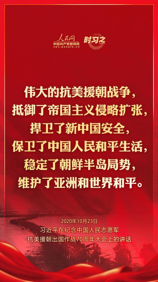 习近平:伟大抗美援朝精神跨越时空、历久弥新图片