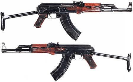 7.62×41毫米是苏联早期生产的M43弹的标准,被用于AK-47的原型测试——但早在1947年前就已经停产,现在全世界也找不到多少这种子弹,估计关于7.62×41毫米的说法是印度军官的口误