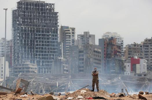 专家:贝鲁特港大部分硝酸铵或失窃 全爆炸会抹平城市