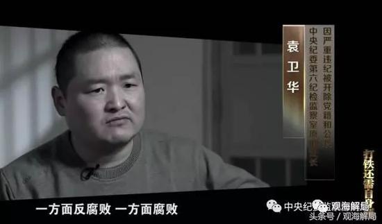 内鬼袁卫华,中纪委第六纪检监察室原副处长