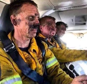 消防员不够,志愿消防员上阵(图源:外媒)