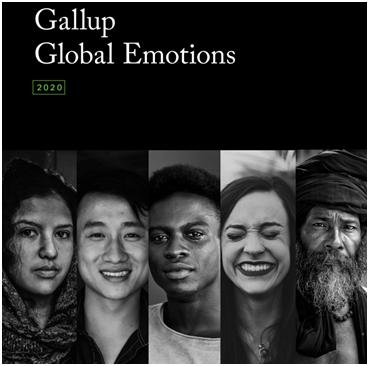 盖洛普2020年度全球情绪调查:中国人积极情绪高涨 美国人悲伤情绪激增图片
