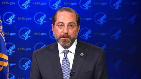 (图说:美国卫生部长亚历克斯·阿扎尔。图源:CNN)