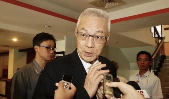 国民党主席吴敦义副主席郝龙斌曾永权请辞图片