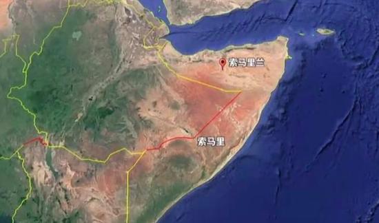 """索马里兰其实并非是一个国家,其""""国家身份""""在国际上并不被其他国家以及联合国所承认。"""