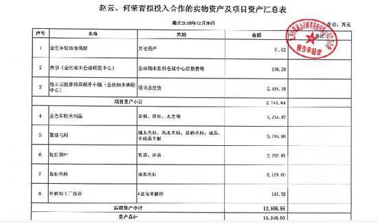 ▲官员配偶委托管帐师事件所出具讲述,称二人资产总计1.5248亿元。图片泉源/受访者供图