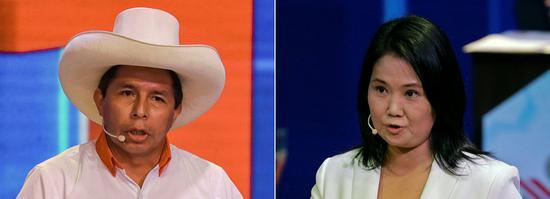 秘鲁大选进入第二轮 左翼工会领袖将对阵藤森庆子