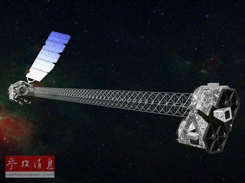 资料图片:反卫星武器想象图