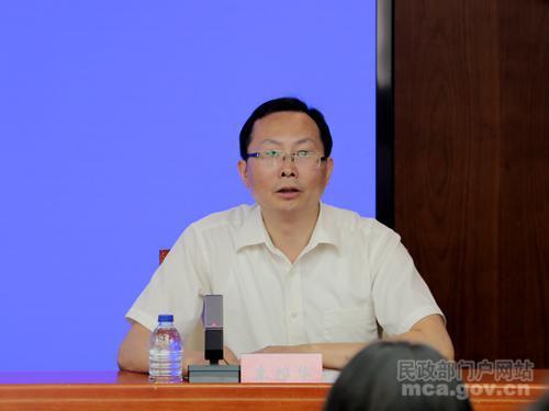 民政部养老服务司副司长李邦华。图自民政部官网