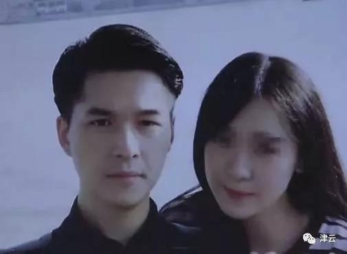 朱晓东与杨俪萍的合影