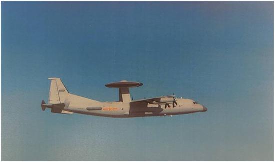 进行实弹射击前一天 绿媒爆解放军预警机朝金门附近绕飞图片