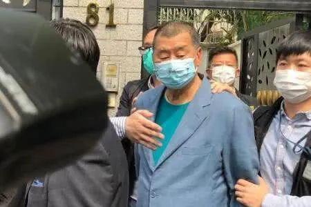 摩天招商:黎智英等被捕香港反摩天招商对派慌了图片