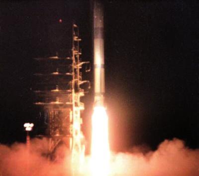 """1970年4月24日,""""长征一号""""运载火箭乐成发射 (资料照片)"""