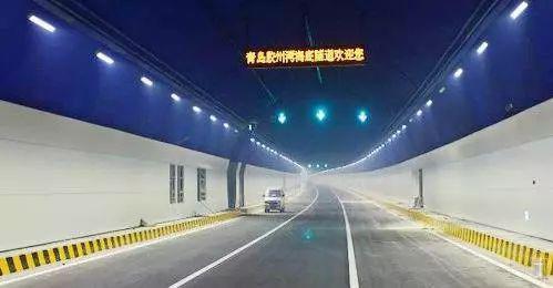 青岛胶州湾海底隧道