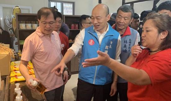 韩国瑜高雄市长罢免案获得通过图片