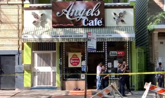 美国纽约2名男孩当街被枪击 1人胸部中枪身亡
