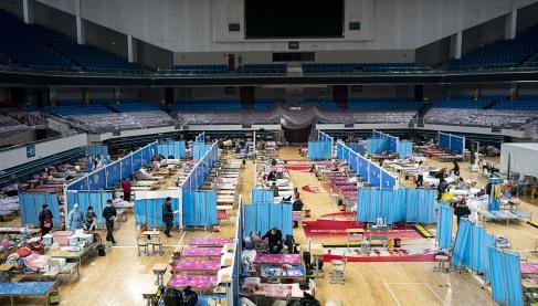 从启动到休舱,武汉16家方舱医院的35天图片