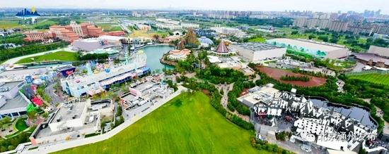 拍摄北京环球度假区!空中视角美爆了!