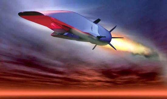 """▲""""锆石""""高超音速反舰导弹想象图"""