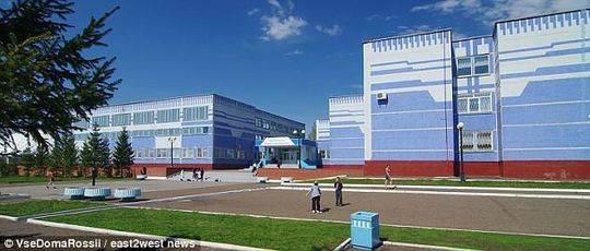 鞑靼斯坦市第十中学。
