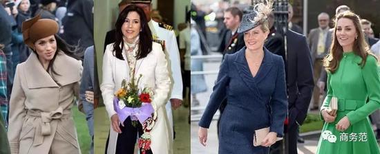 梅根置装费全球王室第一!一年花费是凯特6倍